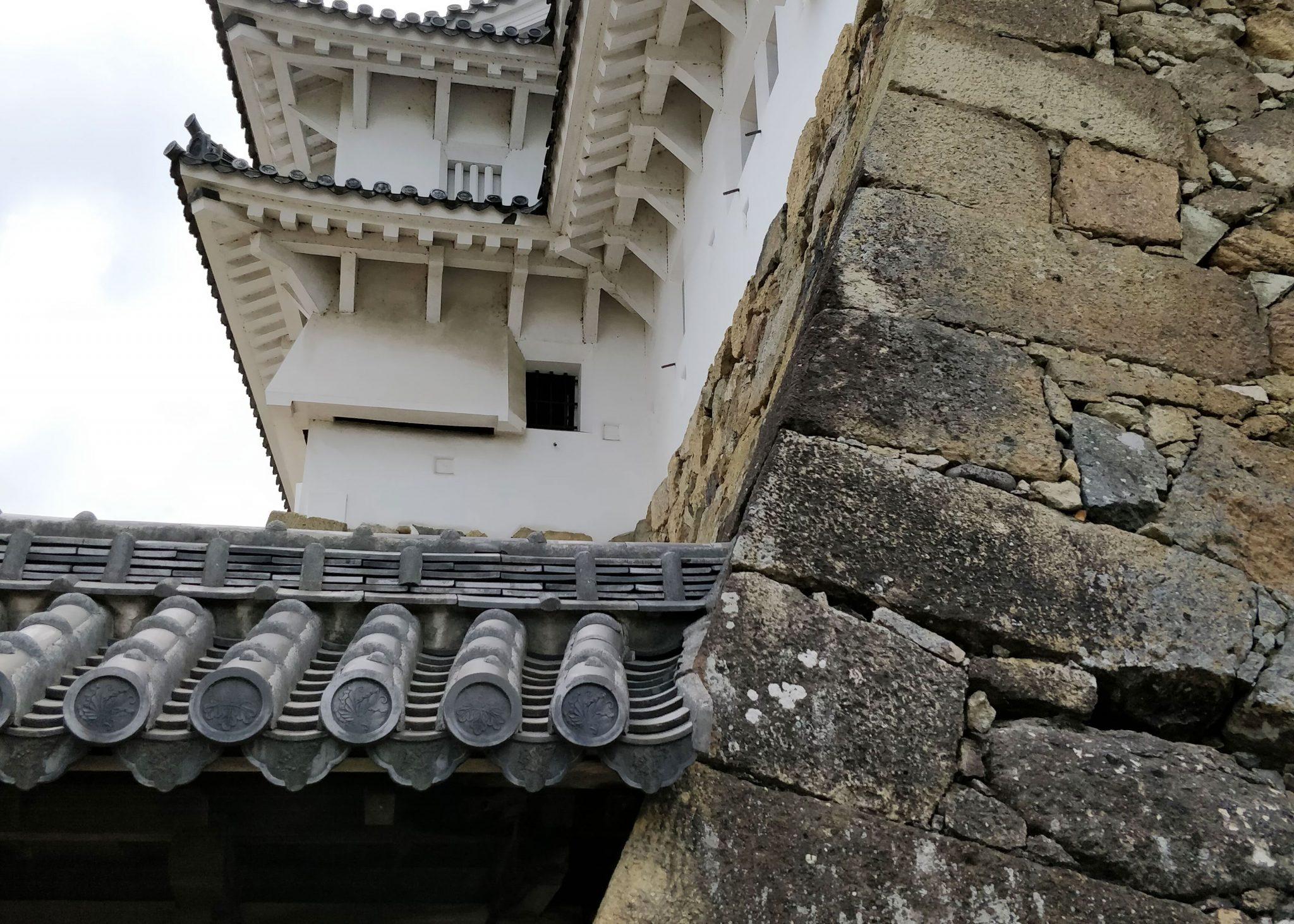 Himejin linnan muuria