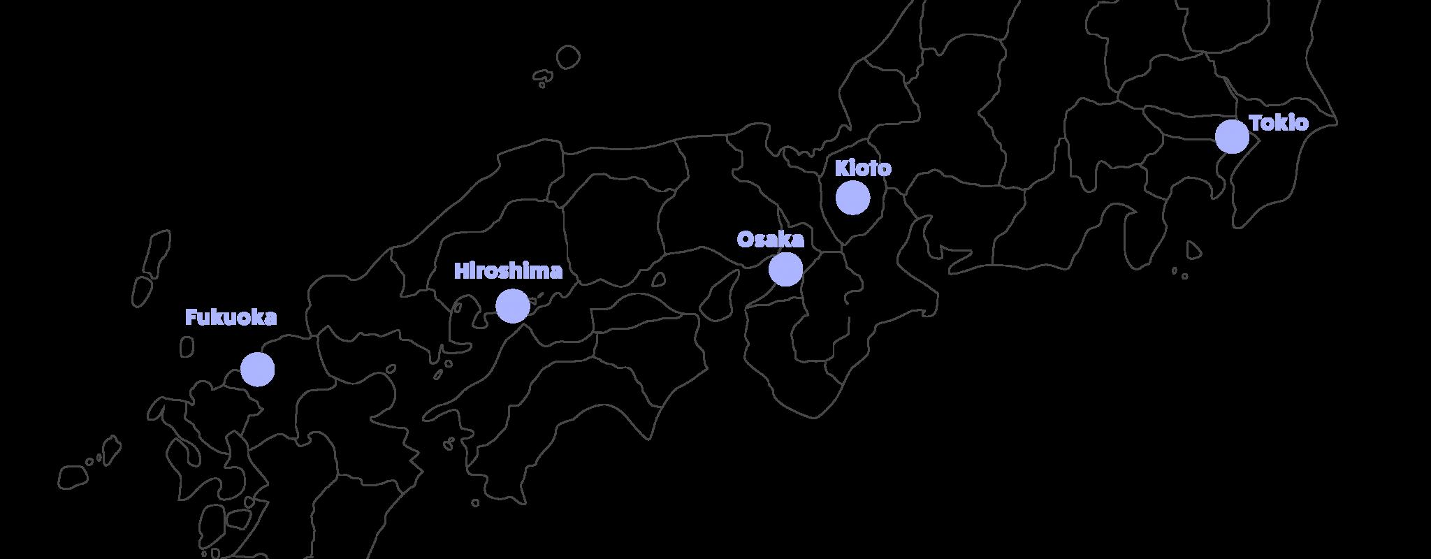 kartta jossa nara merkitty