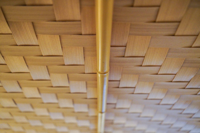 puukatto japanilaisessa talossa
