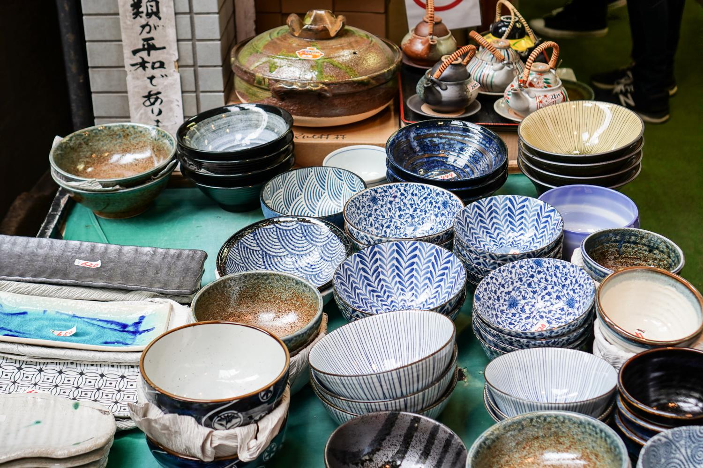 japanilaista keramiikkaa
