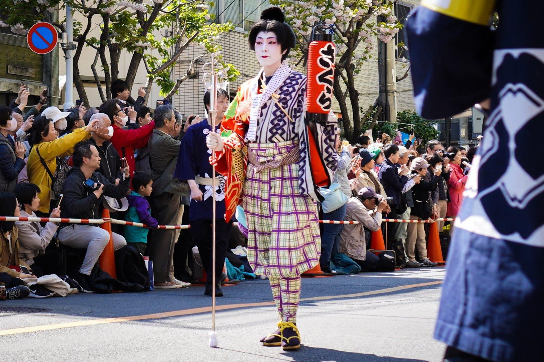 oiran-kulkueen geisha