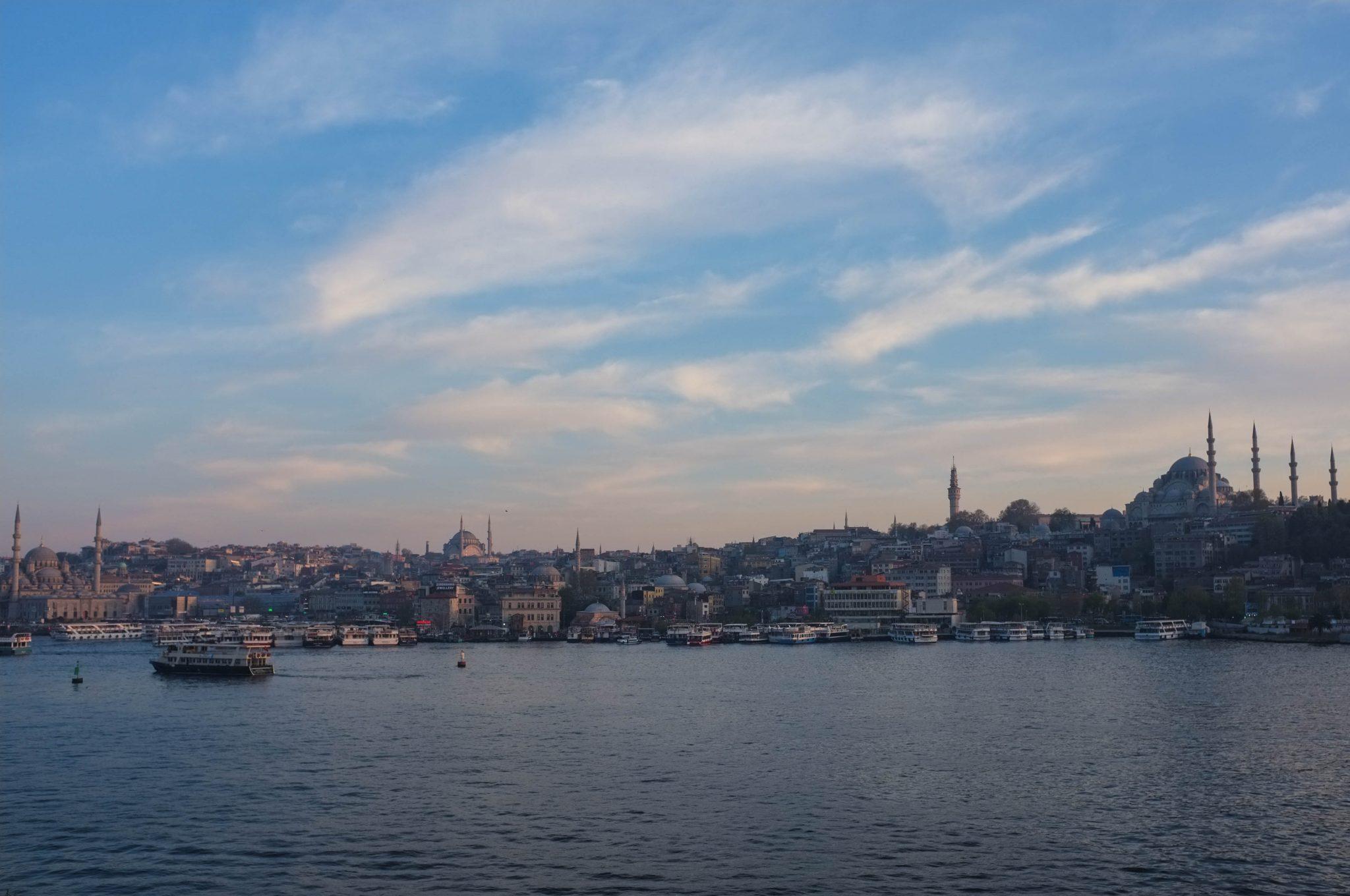 Istanbulin siluetti