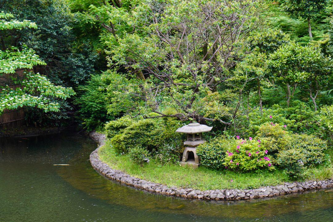puutarha Tokiossa