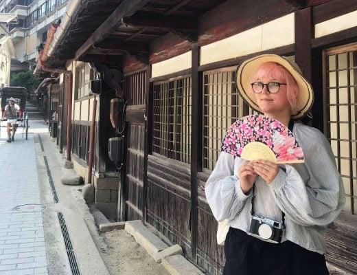 Iida Miyajimassa ja vanhoja taloja
