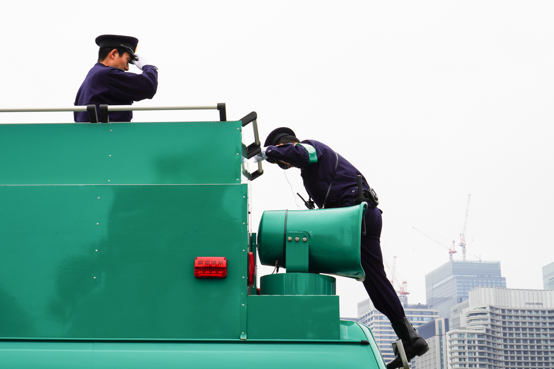 japanilaisia poliiseja