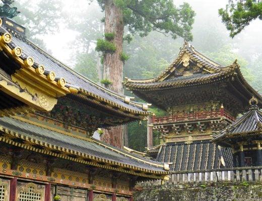 Toshogu-temppelin rakennuksia