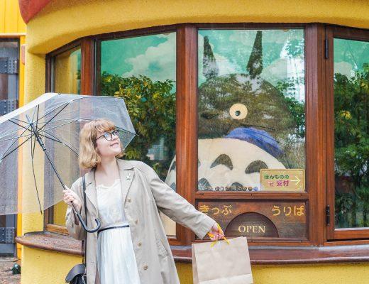 Ghibli-museo: Iida ja totoro