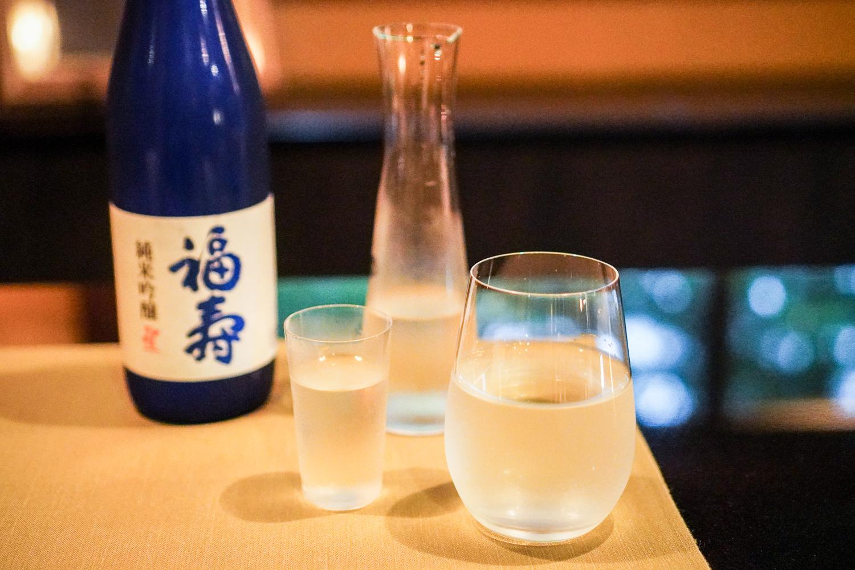 sake at Gosho Bessho