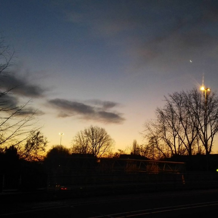 Auringonnousu, aamu