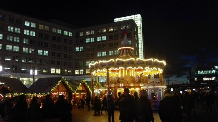 Alexanderplatz Joulumarkkinat Berlin