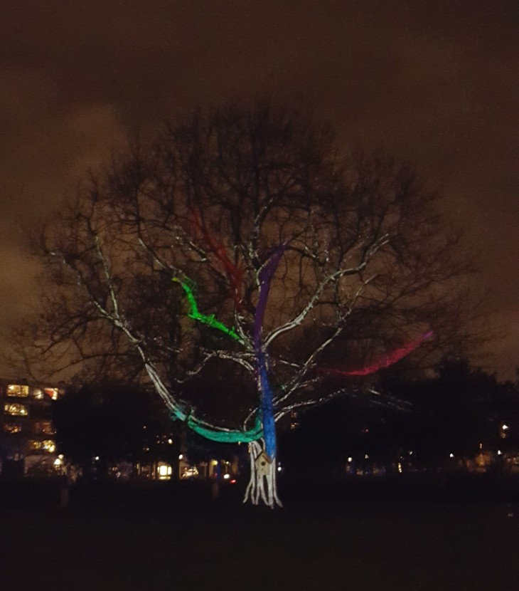 Amsterdam Light Festival 2015 2016 Illuminade Winged Migration
