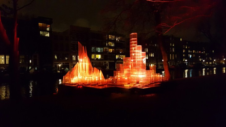 Amsterdam Light Festival 2015 2016 Illuminade Water Colors A Tale of Two Cities