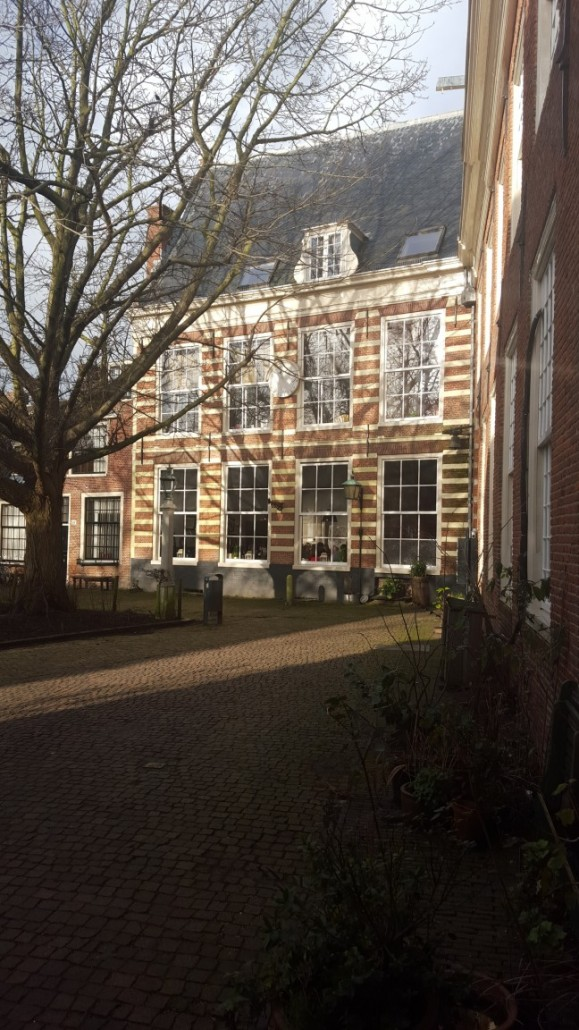 Hofje ravintola Haarlem Alankomaat Hollanti gluteeniton kahvila