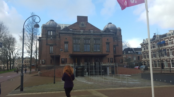 Haarlem Stadsschouwburg Alankomaat Hollanti