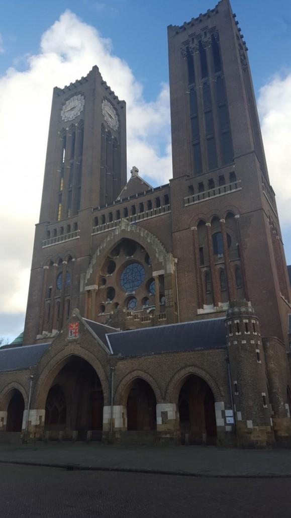 Kathedraal Sint Bavo Haarlem Alankomaat Hollanti