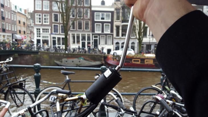 Sää Alankomaat tuuli sade Hollanti