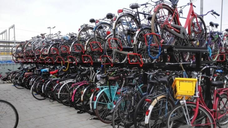 Utrecht Alankomaat Hollanti pyöräily