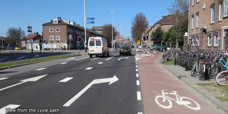 Pyörätie Hollanti Alankomaat pyöräily
