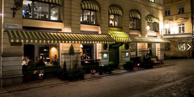 Österlånggatan 17 ravintola Tukholma