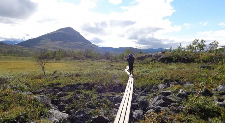 Kungsleden Ruotsi vaellus vaellusreitti Lappi