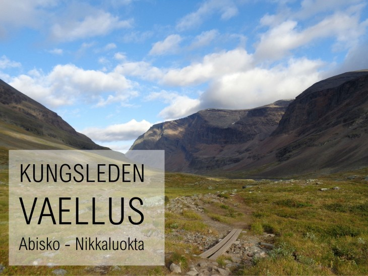Kungsleden vaellus vaellusreitti Ruotsi Lappi