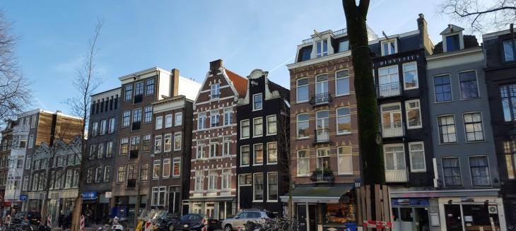 Amsterdam kanaalit arkkitehtuuri
