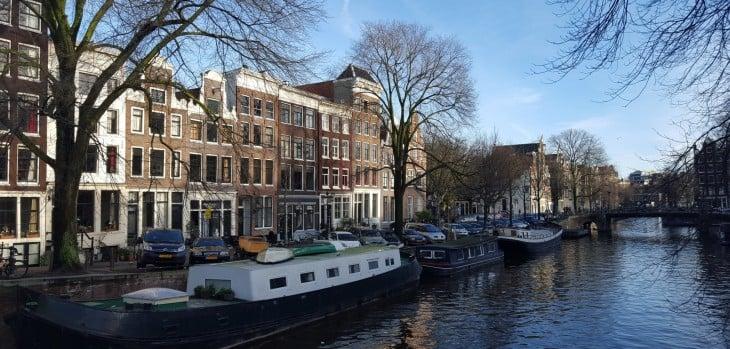 Amsterdam kanaalit shoppailu