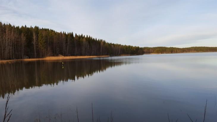 Suomi suomalainen järvimaisema