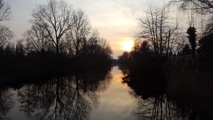Auringonlasku Amstelveen