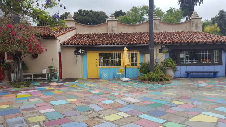 Spanish Village Art Center San Diego Balboa Park