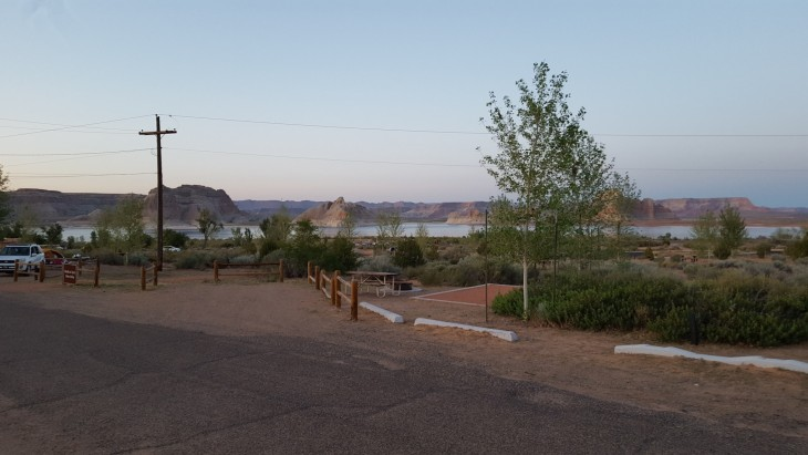 Lake Powell Wahweap Campground