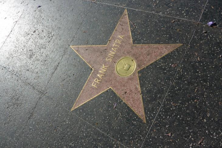 Walk of Fame Frank Sinatra