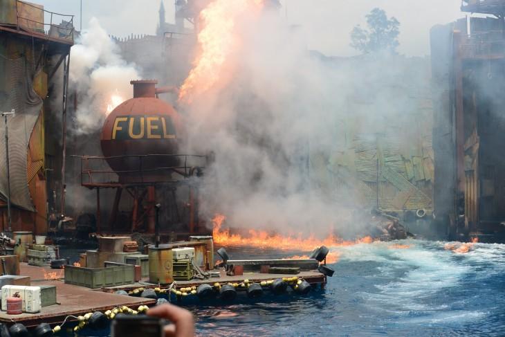 Water World esitys Universal Studiosilla