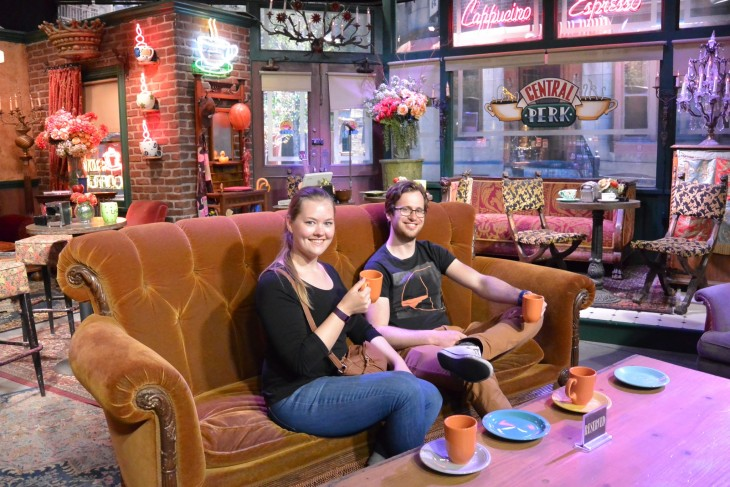 Central Perk Warner Bros Studiosilla