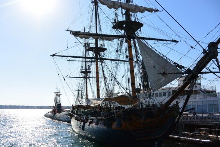 Embarcaderon varrelta San Diego