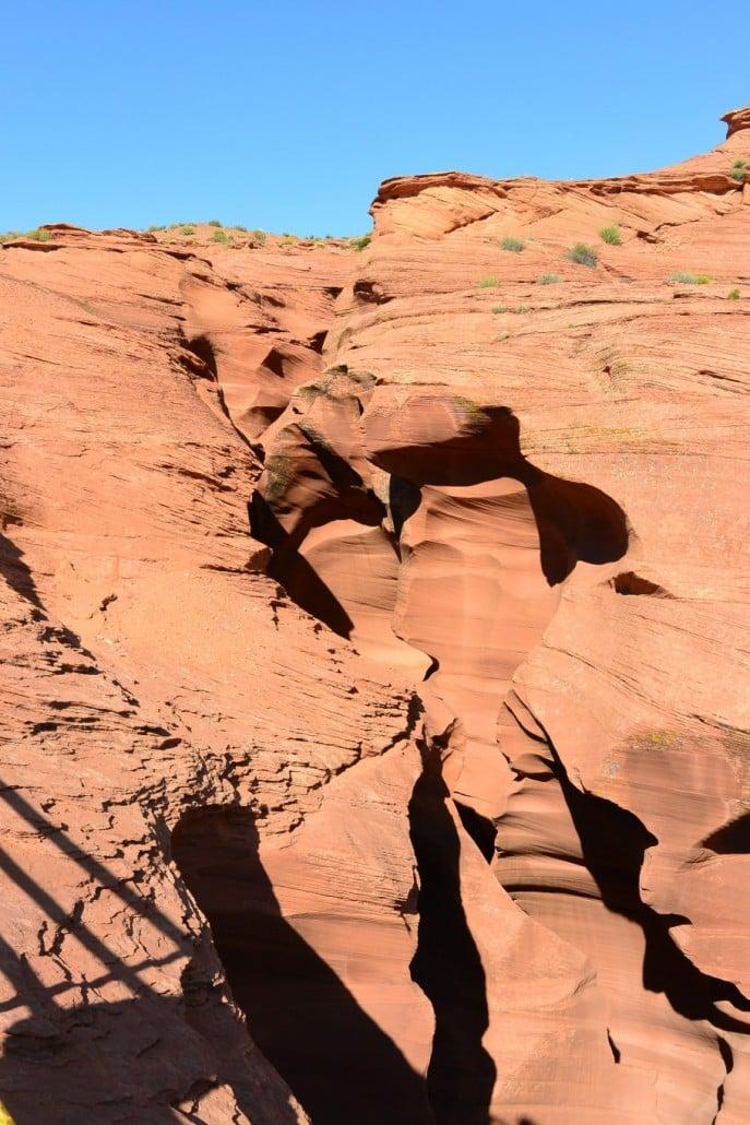 Sisäänkäynti kanjoniin