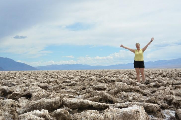 Devil's Golf Course Death Valley USA Roadtrip Kuolemanlaakso