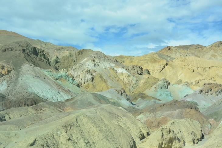 Artist's Palette Death Valley USA roadtrip