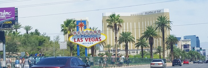 Las Vegas kyltti