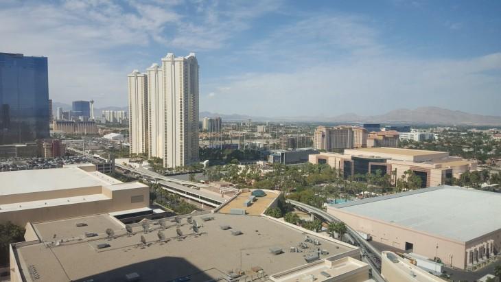 Näkymä Grand King huone MGM Grand Las Vegas