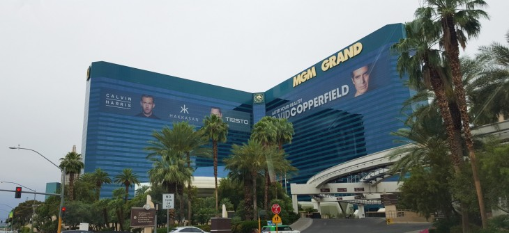 MGM Grand hotelli Las Vegas