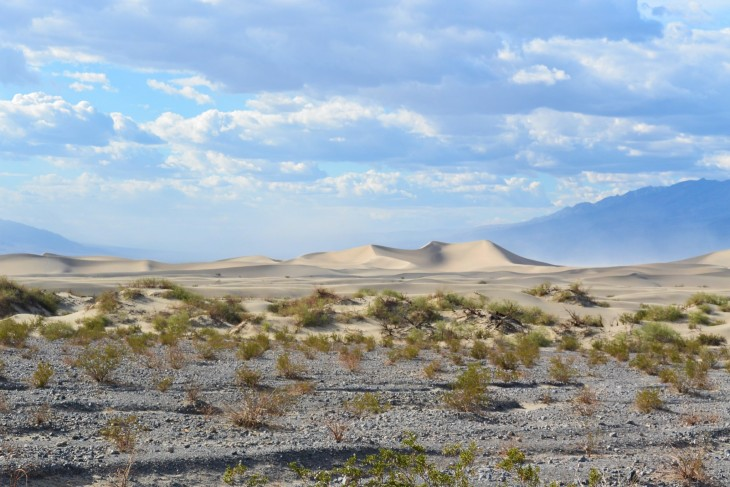 Stovepipe Wells Sand Dunes Death Valley