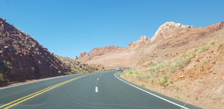 Drive to Antelope Canyon
