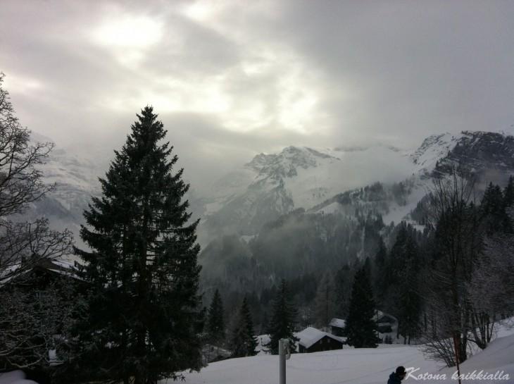 Braunwald Sveitsi Alpit