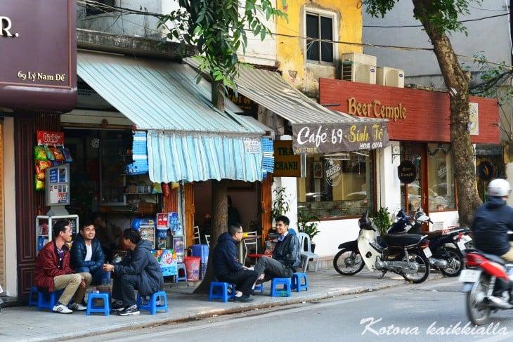 Hanoin kadut Vietnam