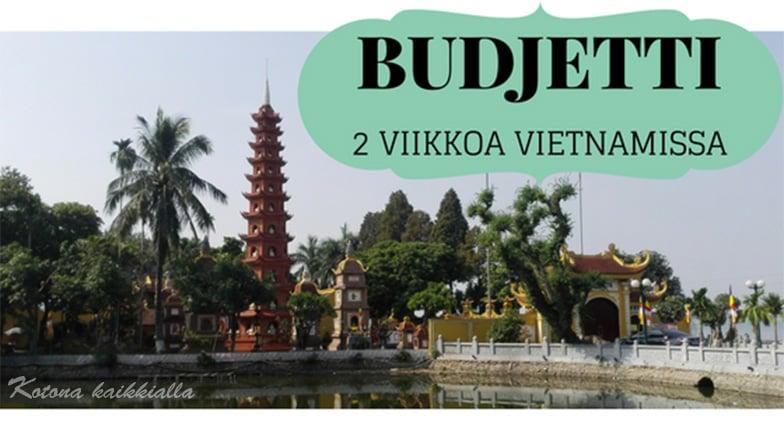 Vietnam budjetti 2 viikkoa hintataso
