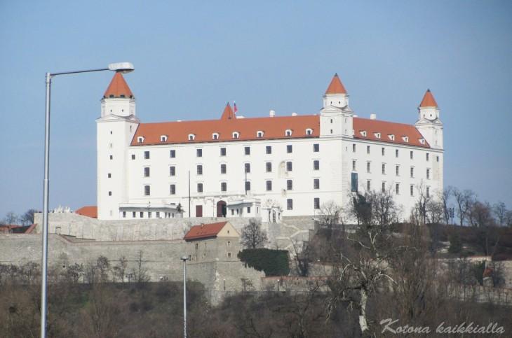 Bratislavan linna Slovakia