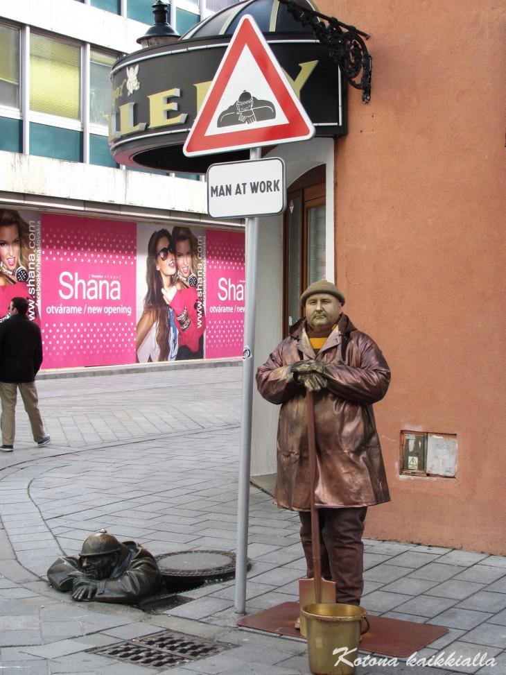 Patsaat Bratislava Slovakia
