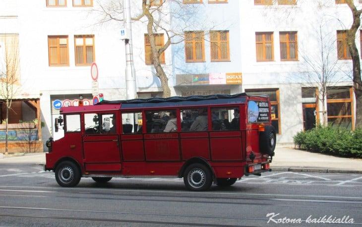 Vanha auto Bratislava Slovakia