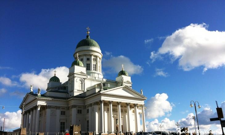 tuomiokirkko Helsinki Suomi